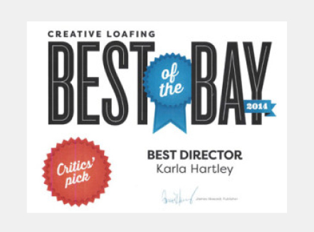Stageworks Theatre Best of the Bay Award Best Director